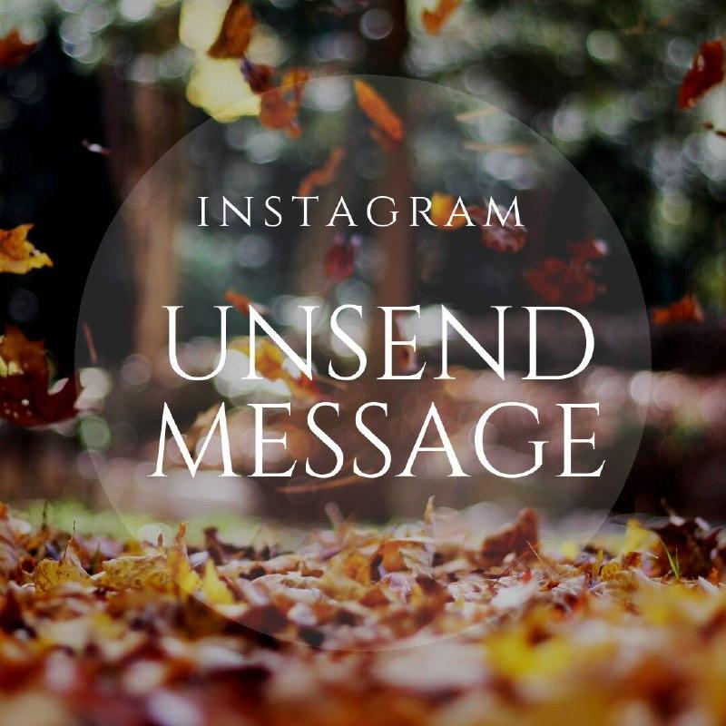 Cara membatalkan pesan (dm) instagram