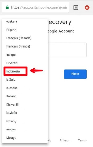 Ubah menjadi bahasa Indonesia