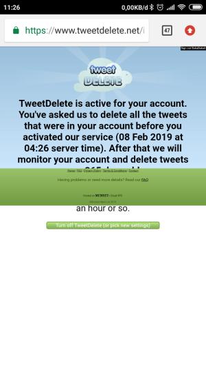 Silakan tunggu beberapa saat, tweet kamu akan dihapus