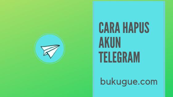 Cara menghapus akun Telegram permanen