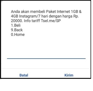 Paket Instagram