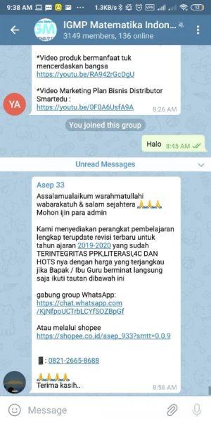 Group IGMP Matematika