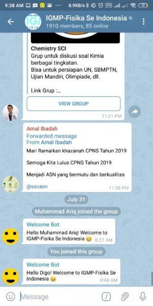Group IGMP Fisika