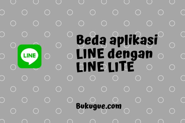 Perbedaan LINE biasa dengan LINE Lite