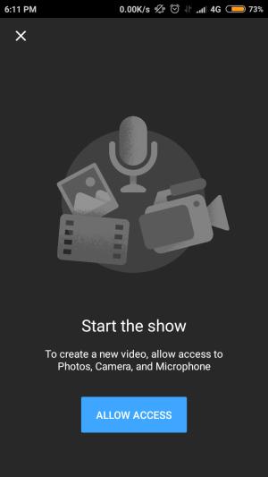fitur untuk membuat video baru pada youtube