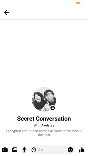 tulis percakapan rahasia seperti saat menulis pesan pada umumnya