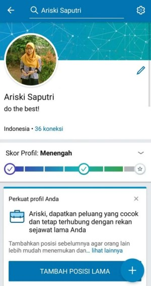 Maksimalkan profil LinkedIn kamu