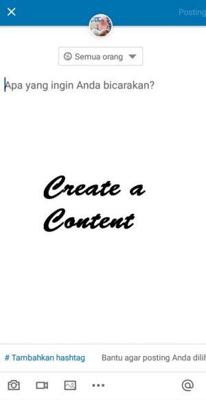 Maksimalkan publikasi konten