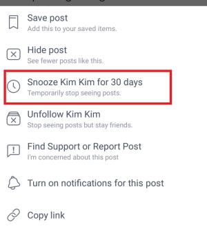 snooze 30 hari