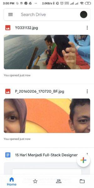 Halman Awal Google Drive