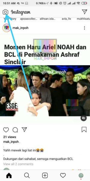 Halaman Instagram