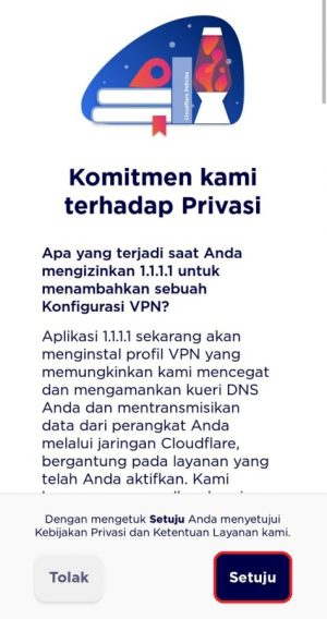 Kebijakan privasi pengguna