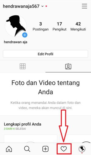 tap icon notifikasi