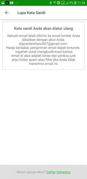 Cek Email Verifikasi