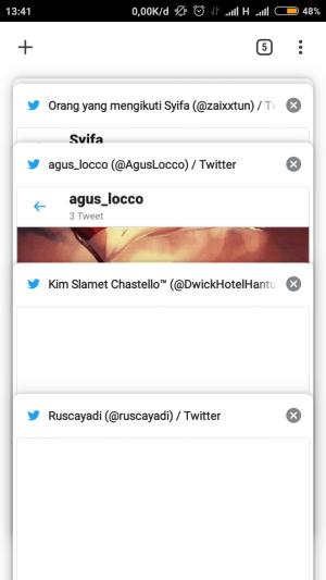 buka tab pada browser