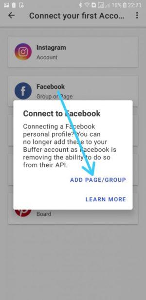 Pilih Add Page