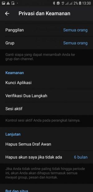Tap Kunci Aplikasi