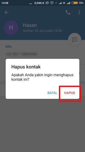 """tap """"hapus"""" pada dialog box"""