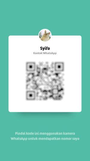 contoh kode QR Whatsapp