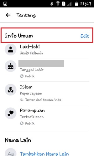 Info Umum