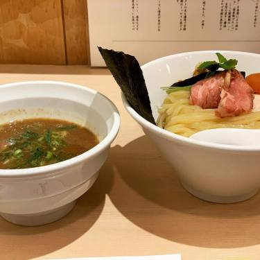 【池袋】2年連続ミシュラン掲載店 篝で濃厚煮干しつけ麺を食す