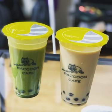 【池袋】ラクーンカフェでタピオカ抹茶ミルクティーを飲んできた