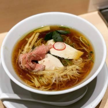 【池袋】ミシュラン掲載店 篝(かがり)で三種スープの芳醇中華そばをたべてきた