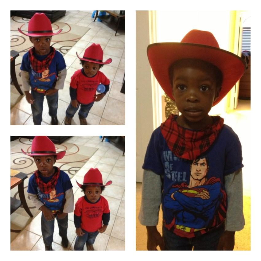 Go Texan Day  Howdy Lil Cowboys