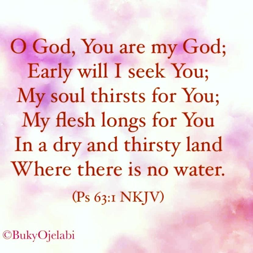 Ps 63:1