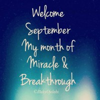 A Prayer For September
