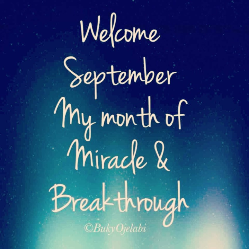 A Prayer For September | Buky Ojelabi