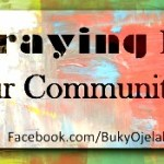 Prayer For Our Community
