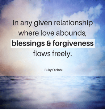 BLESSING & FORGIVENESS-2