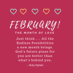 February: The Month Of Love
