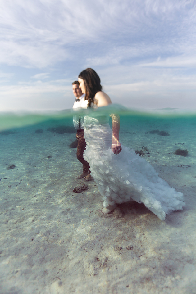 Bula Bride Fiji Wedding Blog // Trash the Dress. Captured by Leezett Photography