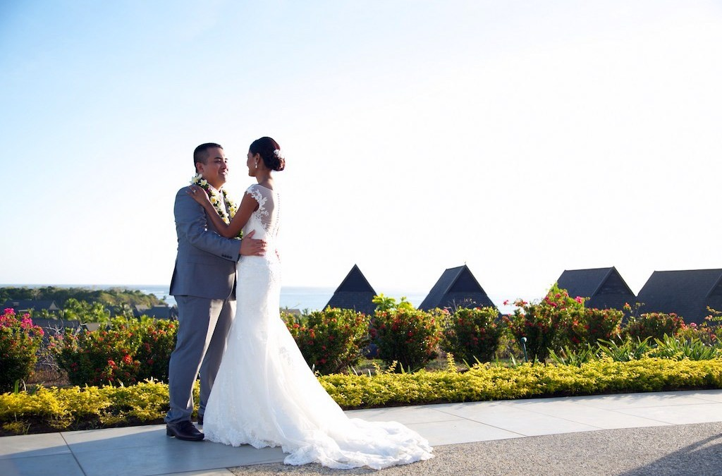 Mark & Jenny — Intercontinental Fiji Wedding