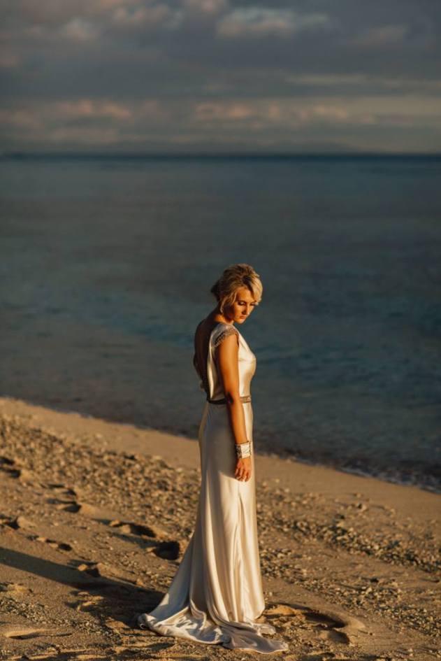Photo by Mitch Pohl Photography Dress by Johanna Johnson