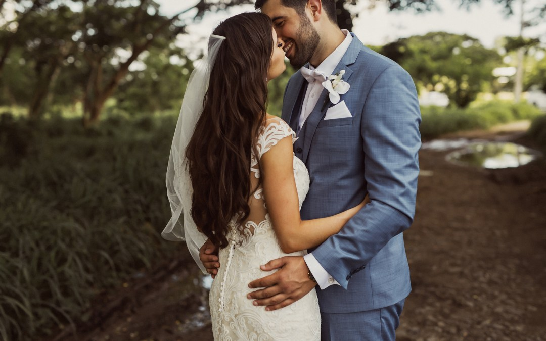 Peter & Alexia — Sheraton Greek Fiji Wedding