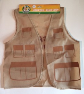 Backyard Safari Vest - Go on critter hunts in style!