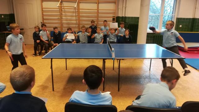 Ping i pong we Fregacie
