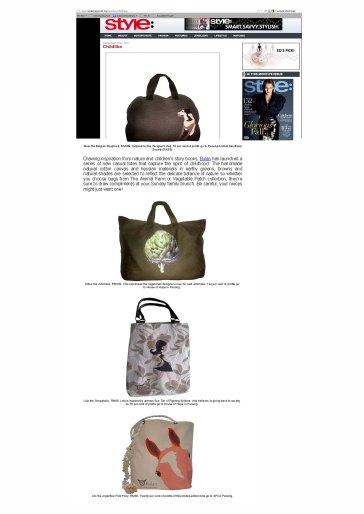 Style Magazine Malaysia online Sept 2011