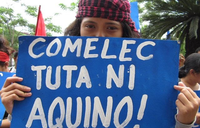 Comelec accused of harassing anti-Aquino partylist bets