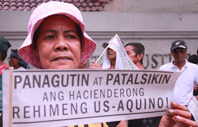 Luisita peasant leader arrested