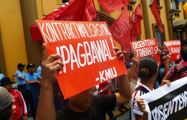 KMU to Duterte: Match anti-contractualization tough talk with tough action