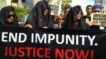 Kin of Ampatuan Massacre victim calls for justice