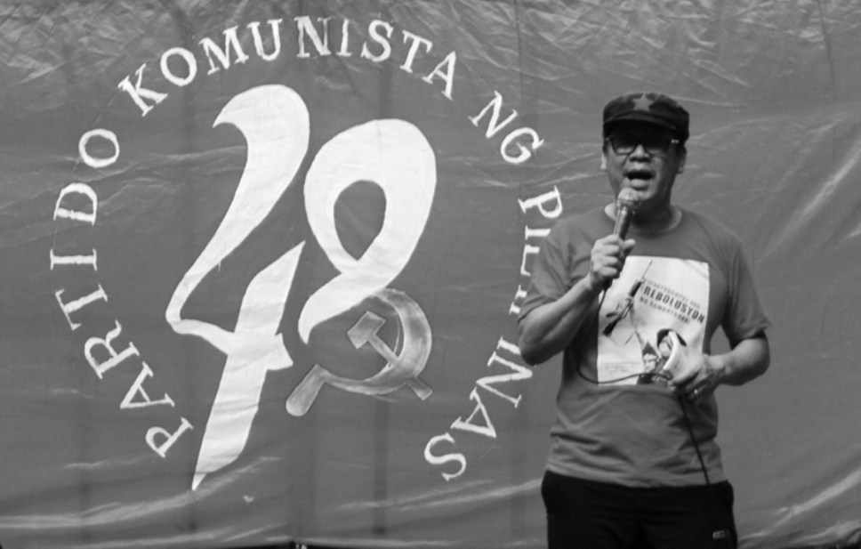 National Democratic Front of the Philippines (NDFP) consultant Ernesto Lorenzo criticizes the Duterte government for failing to fulfill its commitment to all free political prisoners. He said while the NDFP supports the continuation of the peace negotiation, the NDFP will most likely terminate its unilateral ceasefire in January if the government continues to incarcerate political prisoners. (Bulatlat photo)