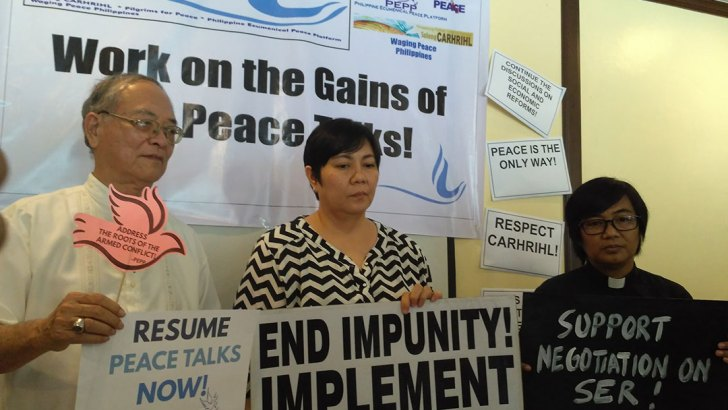 Advocates urge Duterte to resume peace talks with Reds