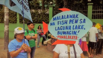 Fisherfolk want their fishing grounds back