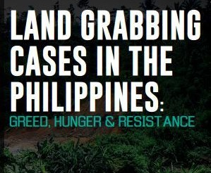 New book documents land grabbing cases in PH