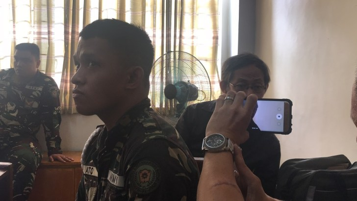 Accused Army General Palparan testifies in court, denies charges